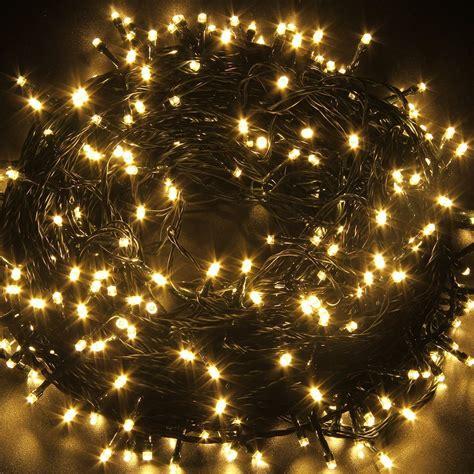 Fullbell 33ft Christmas Led Fairy Twinkle String Lights 80