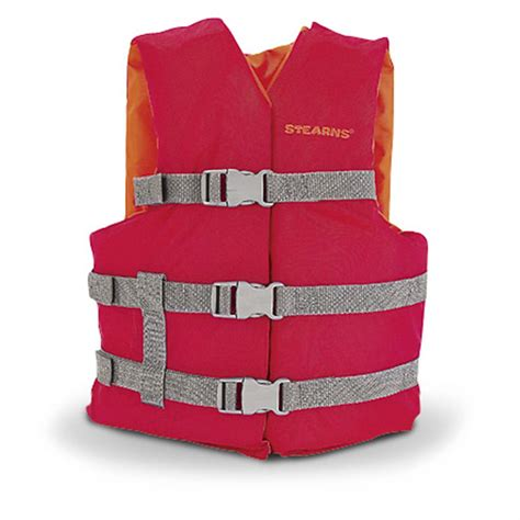 Boating Life Vest by Stearns 174 Youth Boating Life Vest 108660 Universal Life
