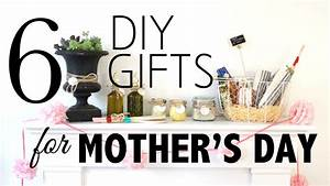 6 DIY Gifts for Mother's Day - YouTube