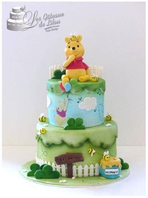 g 226 teau winnie l ourson les gateaux de lilou cake design