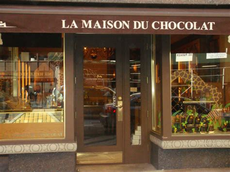 la maison du chocolat for easter bunnies around town