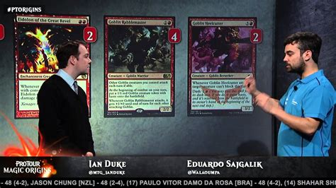 pro tour magic origins deck tech aggro with eduardo