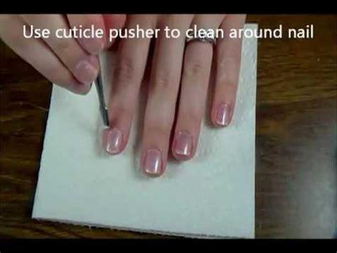 emilywmakeup beginner gel nail using