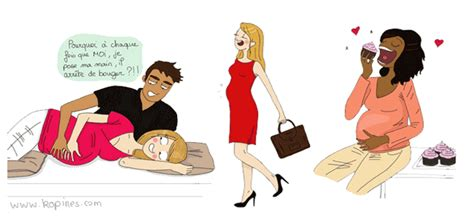 ma grossesse en dessins
