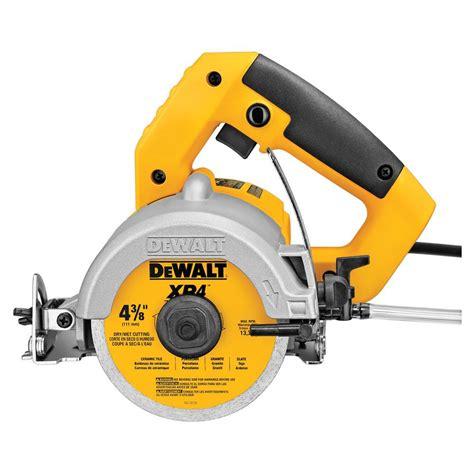 dewalt 4 3 8 in handheld tile cutter tools corded handheld power tools circular saws