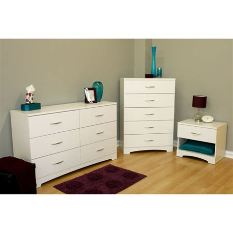 Walmart Dressers And Nightstands by South Shore Soho 3 Dresser And Nightstand Set