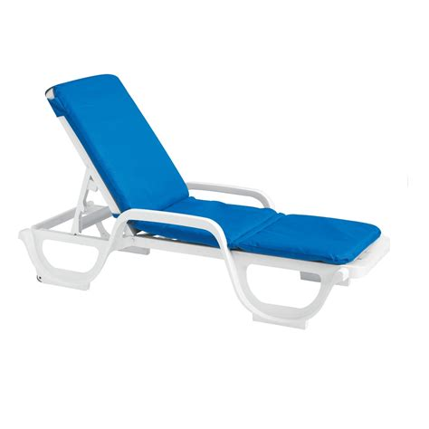grosfillex contract chaise lounge chair cushion with et t distributors