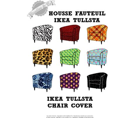 ikea tullsta chair cover pattern patron housse by needlesandco