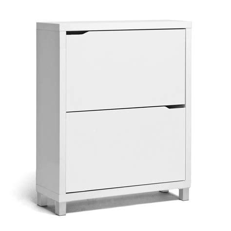 simms white modern shoe cabinet interior express