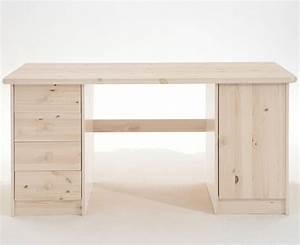 Tisch Weiß Holz : schreibtisch wei kiefernholz massiv holz kiefer m bel pc tisch ~ Markanthonyermac.com Haus und Dekorationen