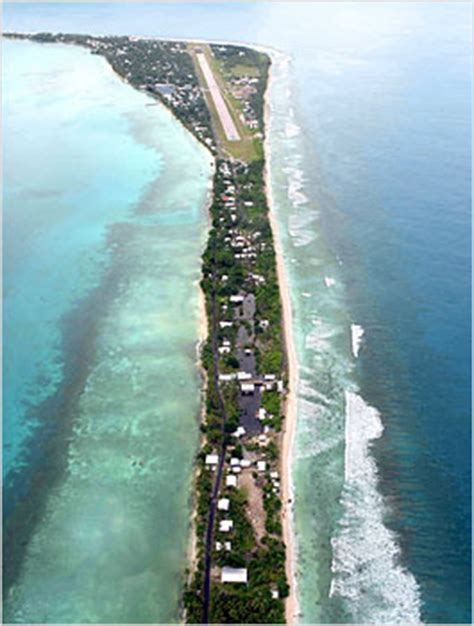 the sinking pacific climate change and international aid in tuvalu