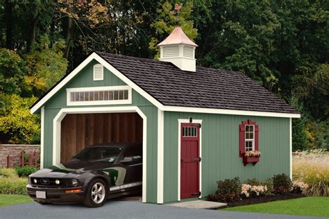 Elite Garage  Ulrich Sheds & Cabin Shells