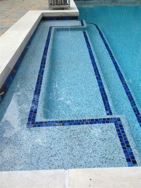 beautiful blue lagoon pebble tec pool finish raleigh