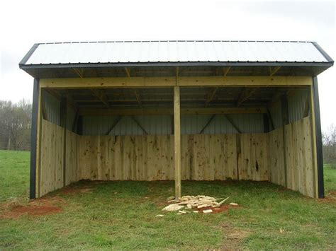 patric free 12x24 loafing shed plans