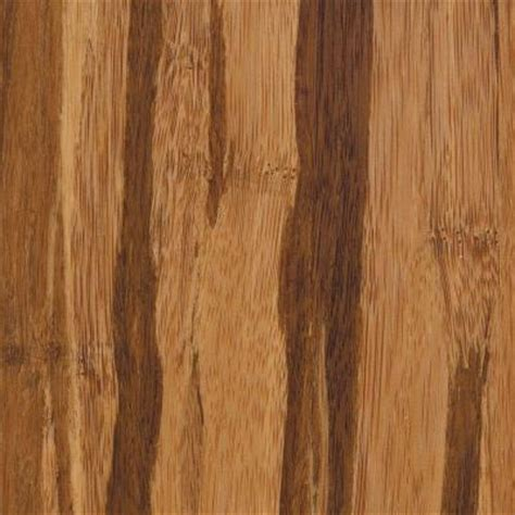 home legend strand woven tigerstripe 3 8 in t x 3 7 8 in w x 73 1 4 in l solid bamboo