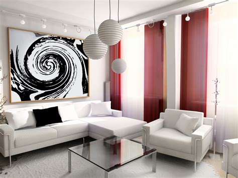 28 Red And White Living Rooms Interiors Inside Ideas Interiors design about Everything [magnanprojects.com]