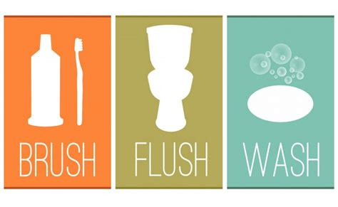 8 best images of free bathroom printable free printable bathroom printable