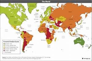 Economic freedom increasing worldwide, but not in U.S ...