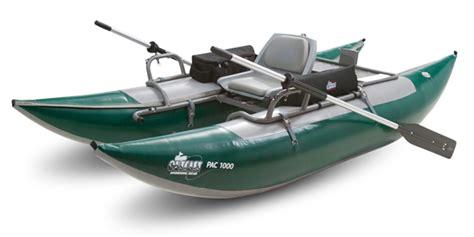 Outcast Fishing Pontoon Boats by Outcast Fishing Pontoon 1 Man 500 Lb Capacity The