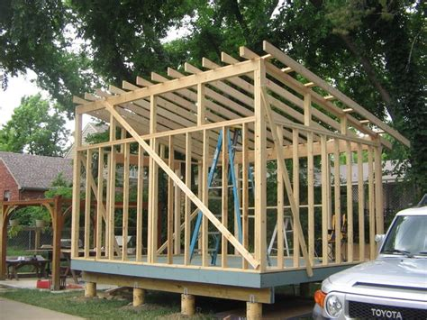 slant roof shed plans shed style roof with clerestory windows for the garage