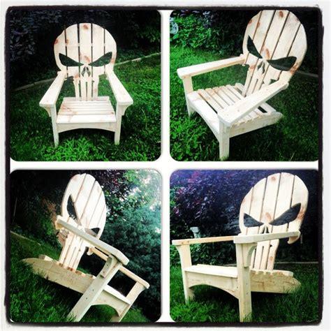 free plans for skull adirondack chair