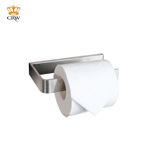 crw brass bathroom toilet paper tissue roll holder bar