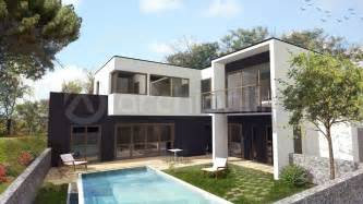 cout construction d une maison maison moderne