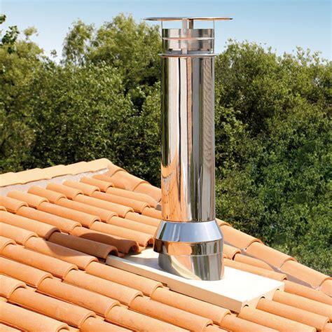 conduit cheminee exterieur inox 28 images photos illustrations et vid 233 os de tubage