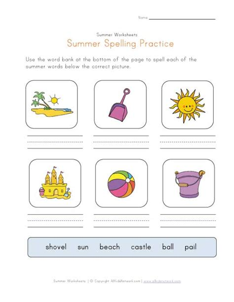 Summer Season Worksheets For Kindergarten  Worksheets On Summer Season For Kindergarten What Do