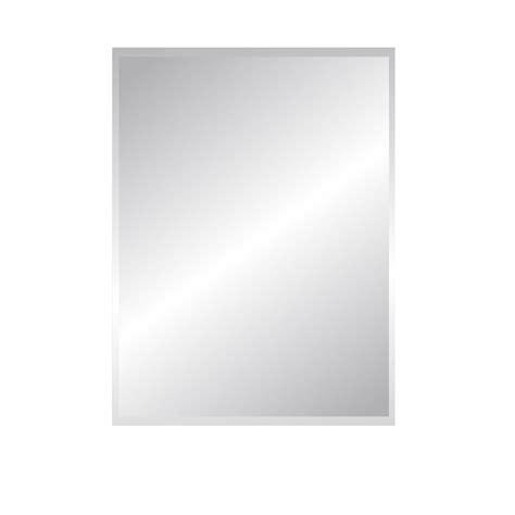 miroir non lumineux d 233 coup 233 rectangulaire l 60 x l 80 5 cm biseaut 233 leroy merlin