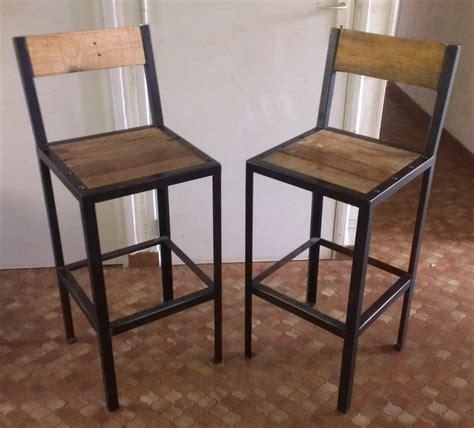 tabourets de bar r 233 alisation de meubles en bois et en m 233 tal