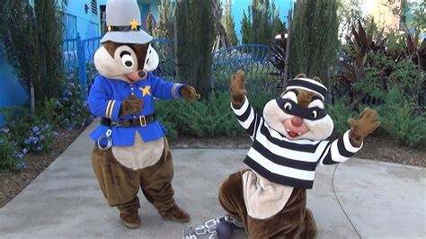 Chip N Dale Costume by Chip And Dale In Cop And Bandit Halloween Costumes At