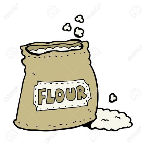 Flour Clipart Cartoon  Pencil And In Color Flour Clipart
