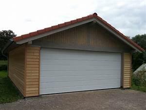 Holzgarage Mit Carport : holzgarage holzgaragen als individueller bausatz ~ Markanthonyermac.com Haus und Dekorationen
