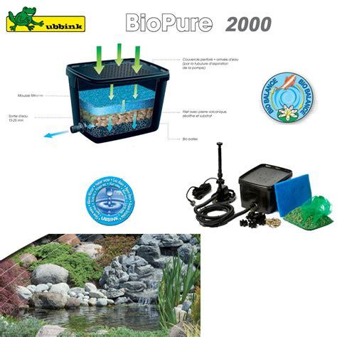 filtre pour bassin ext 233 rieur biopure 2000 set de base 1355014 ubbink 8