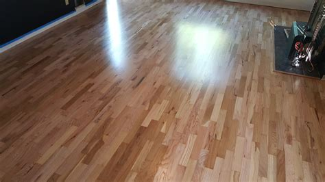 Nampa Red & White Oak Wood Floor Refinish  Amax Hardwood