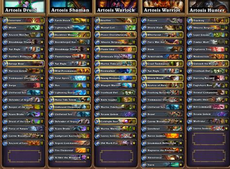 hearthstone news all decklists from seatstory cup