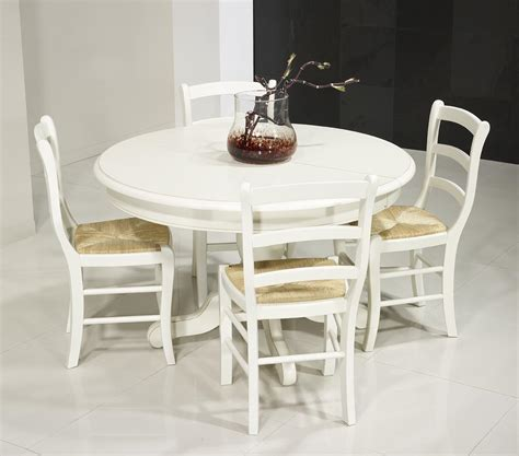 table ronde pied central en merisier massif de style louis philippe diametre 120 2 allonges de