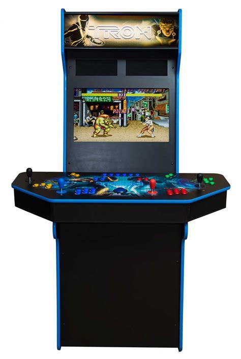 4 player arcade cabinet manicinthecity