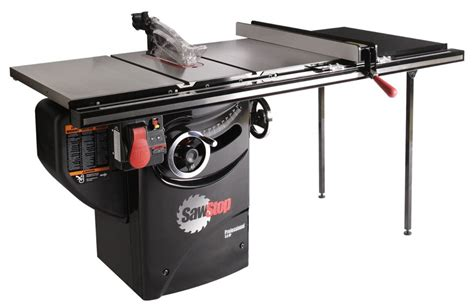 sawstop pcs31230 tgp236 3 hp professional cabinet saw assembly with 36 inch professional t glide