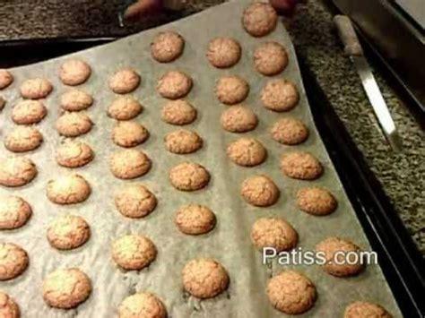 recette des macarons aux amandes recette ancienne
