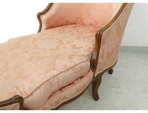 chaise longue louis xv duchesse en bateau noyer sculpt 233 xviii 232 me si 232 cle