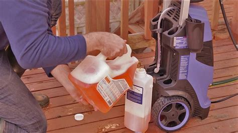 how to clean and prepare a deck canadian tire