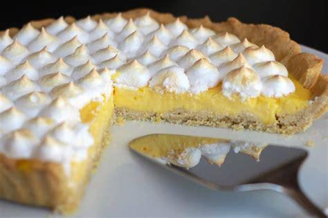 tarte au citron thermomix peu sucr 233 e mais 224 se damner