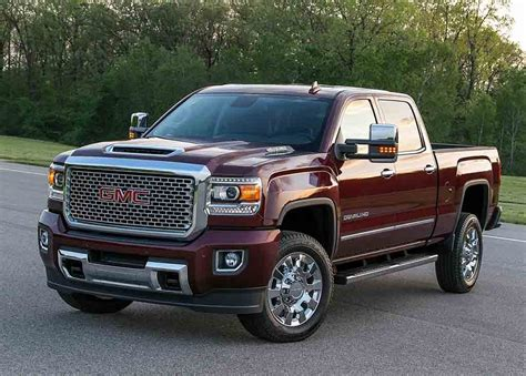 2018 Gmc Sierra 2500hd Interior And Specs  2019 Car Reviews