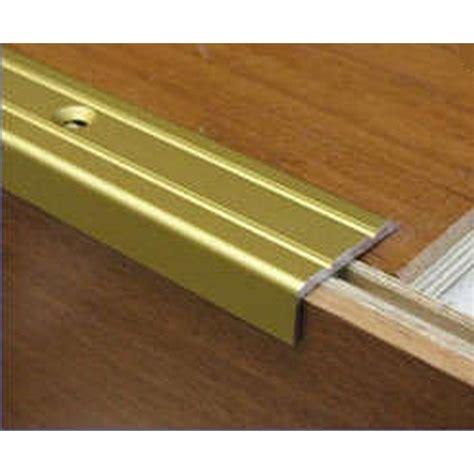 unika 1m laminate stair nosing gold