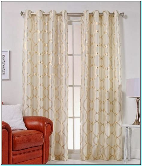 beautiful white and gold curtains gallery interior