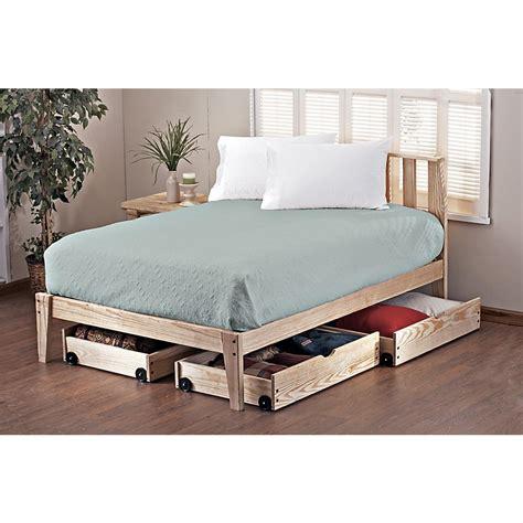 Pine Rock Platform King Bed Frame  113118, Bedroom Sets