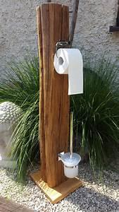 Toilettenpapierhalter Stehend Mit Bürste : 159 besten rustikales aus holz einzigartige geschenke bilder auf pinterest ~ Markanthonyermac.com Haus und Dekorationen