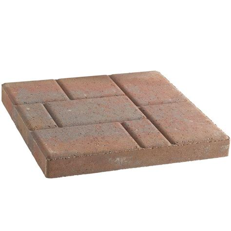 pavestone 16 in x 16 in stratford concrete step 72499 on popscreen